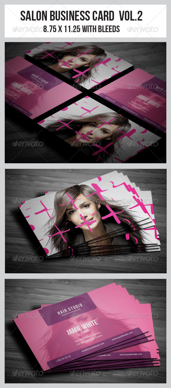 GraphicRiver Salon Business Card Vol.2 3675165