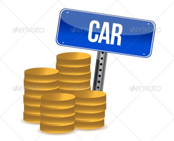 PhotoDune car savings concept 3675602