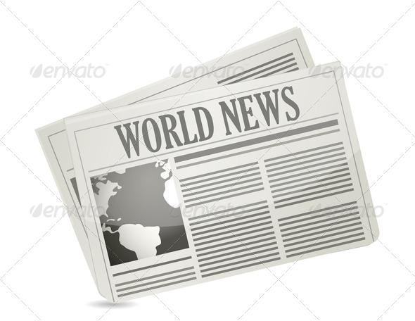 PhotoDune Global news concept 3675611