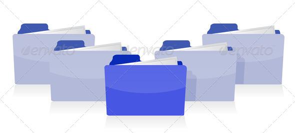 PhotoDune Documents organized concept 3675627