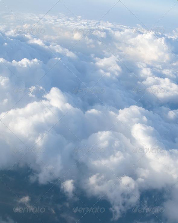 PhotoDune View at clouds 3675796