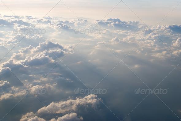 PhotoDune View at clouds 3675804