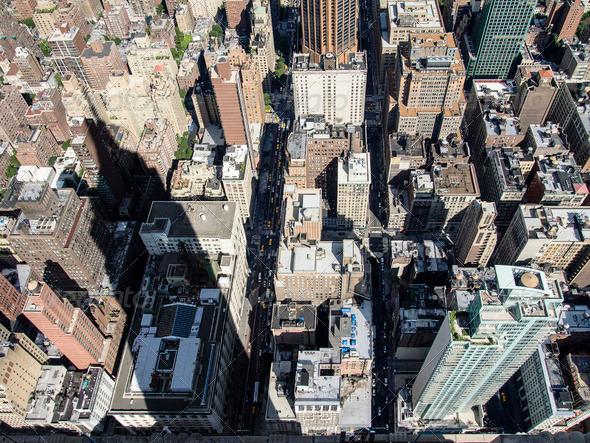 PhotoDune Empire State Building Shadow 3675748