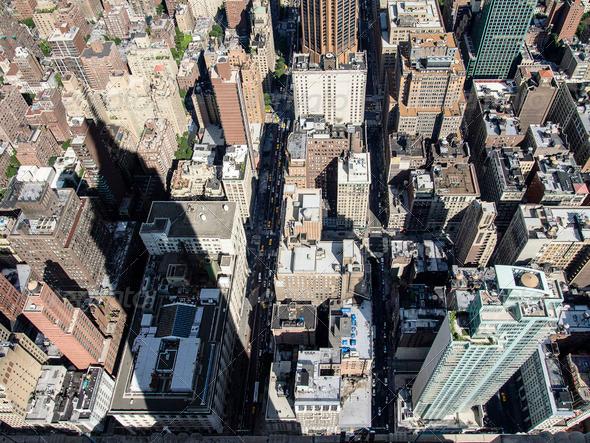 PhotoDune Empire State Building Shadow 3675748