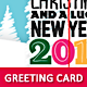 Christmas & New Year Greeting Card - GraphicRiver Item for Sale