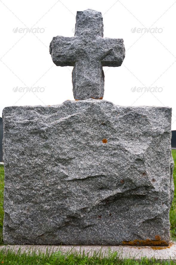 PhotoDune Granite Gravestone 3675806