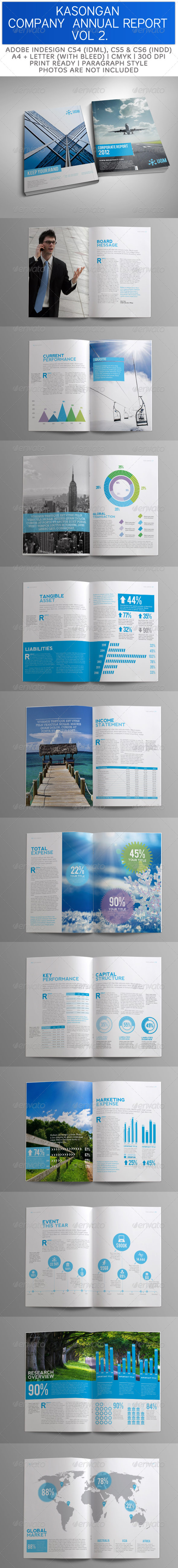 GraphicRiver Kasongan Company Annual Report Volume 2 3675850