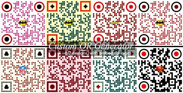 CodeCanyon Advanced Custom QR Code Generator 3675998