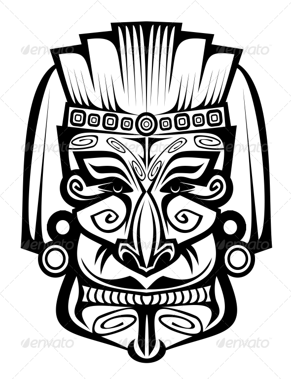 GraphicRiver Ancient Mask 3676008