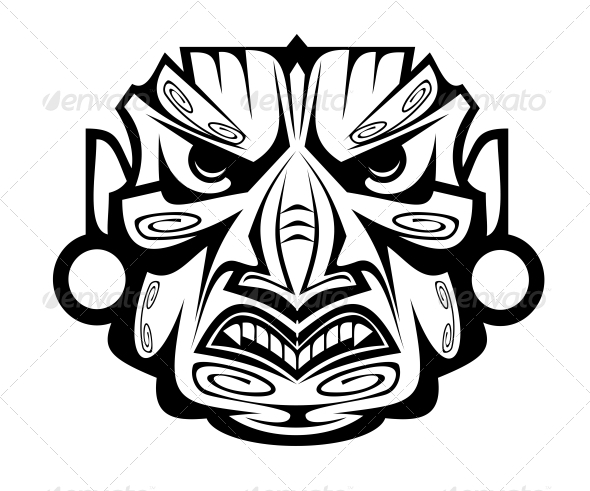 GraphicRiver Ancient Mask 3676013