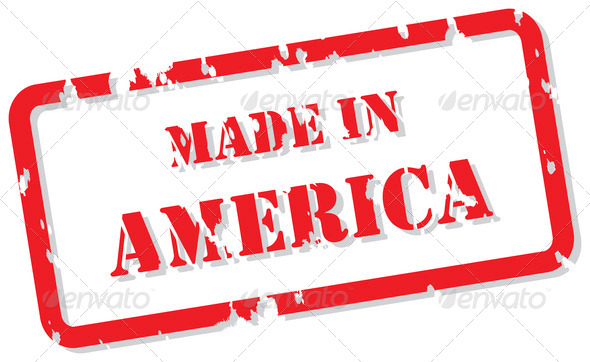 America Stamp - Stock Photo - Images