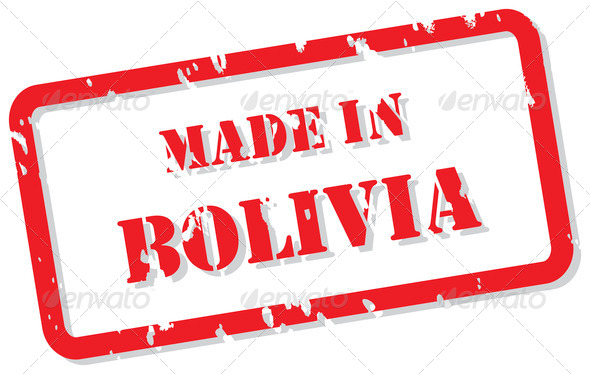 Bolivia Stamp - Stock Photo - Images