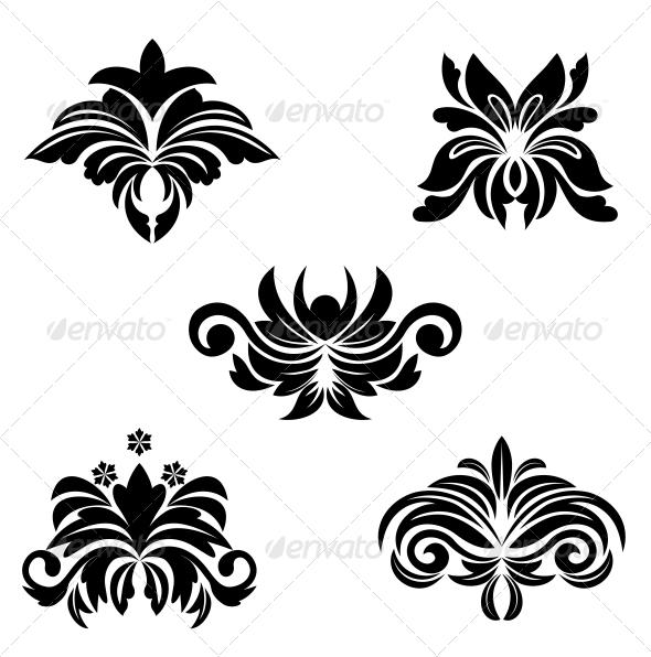 GraphicRiver Flower Symbols 3676029