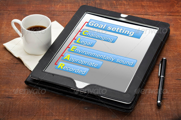 clear goal setting concept - Stock Photo - Images