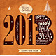New Year Vintage Card - GraphicRiver Item for Sale