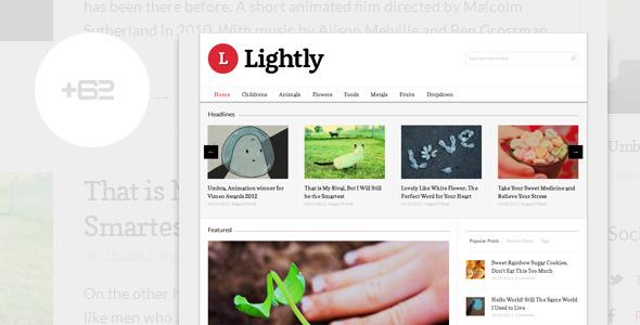 Lightly - Magazine WordPress Theme