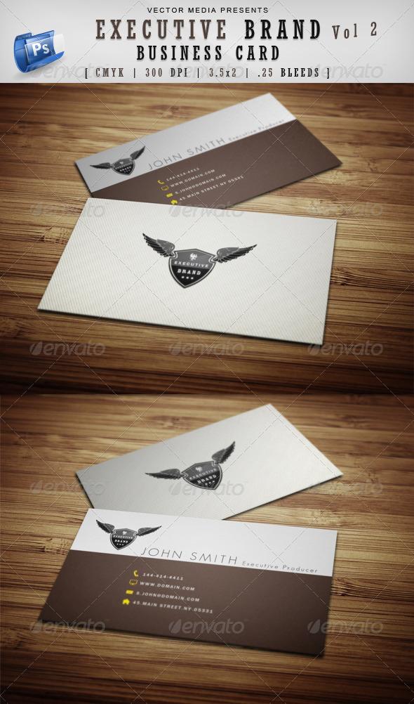 GraphicRiver Executive Brand Business Card [Vol.2] 3678613