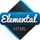 Elemental - Uniquely Designed HTML Template