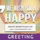 Greeting Card - Stamp-H - GraphicRiver Item for Sale