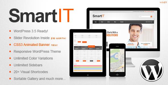 ThemeForest SmartIT Premium Responsive WordPress Theme 3271328