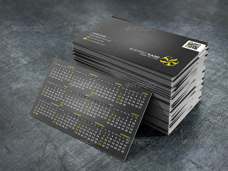 2013 Calendar Business - Personal Cartvisit
