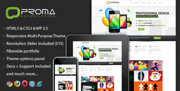 ThemeForest Proma Responsive Multi-Purpose Theme 3662271