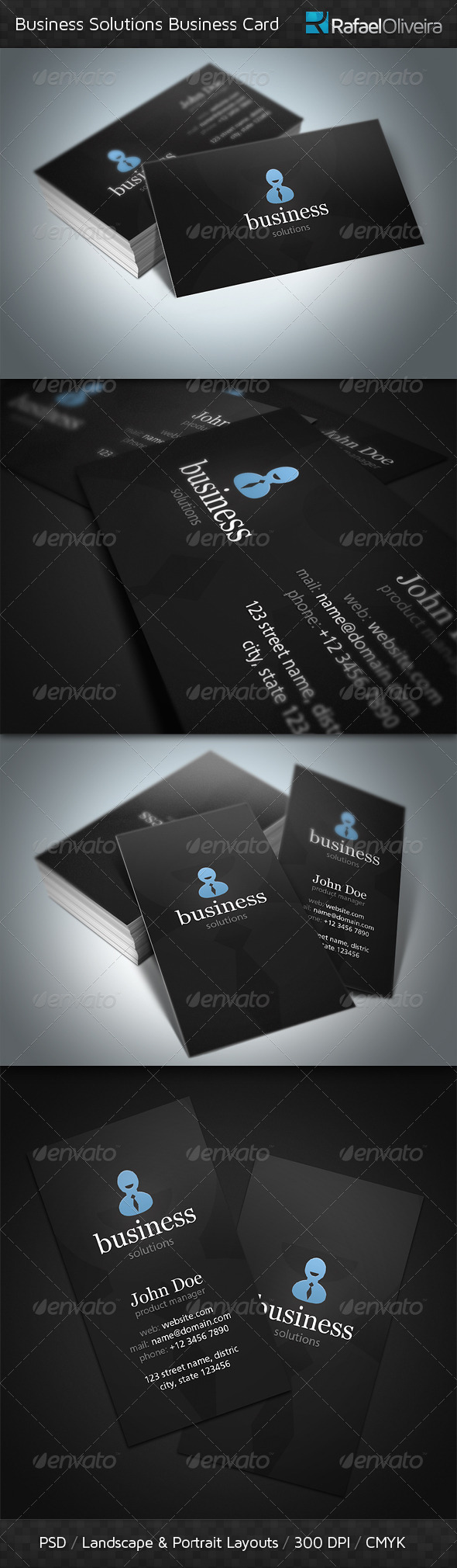 GraphicRiver Business Solutions Business Cards 3680814