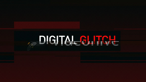 VideoHive Digital Glitch 3680872