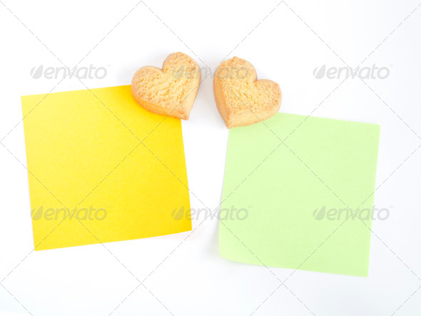 PhotoDune heart shaped cookies 3682202