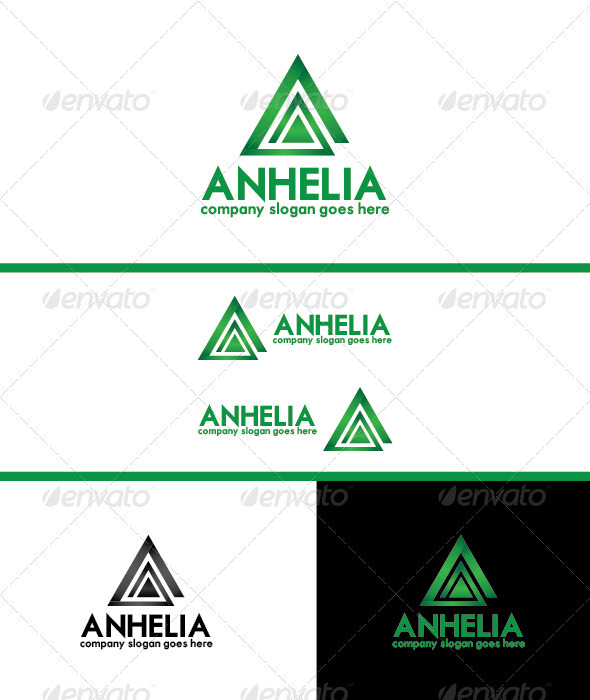 GraphicRiver Anhelia Logo Template 3682008