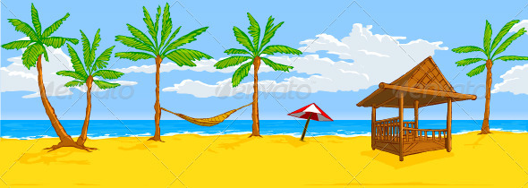 Graphicriver Beach 3683290 Stock Vector Conceptual Business