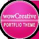 WowCreative - Responsive Portfolio Theme
