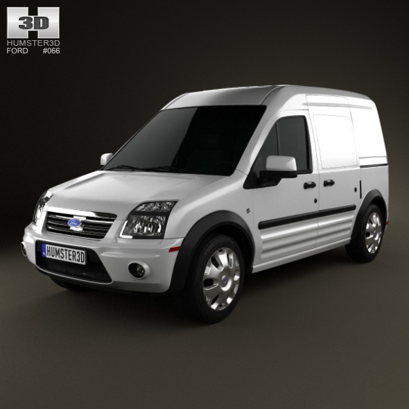 3DOcean Ford Transit Connect LWB 2012 3684621