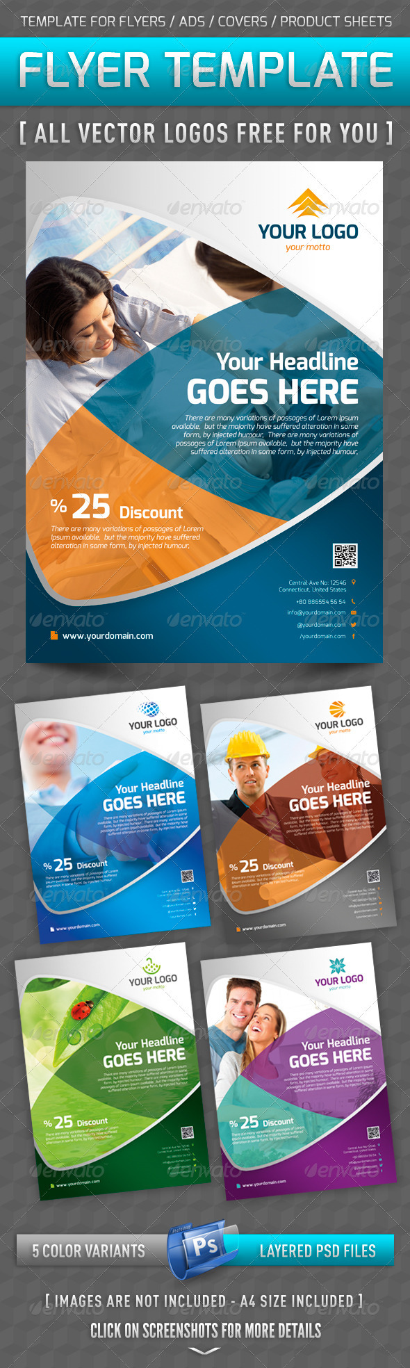 GraphicRiver Flyer Template 3684643