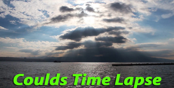 Clouds And Landscape Time Lapse