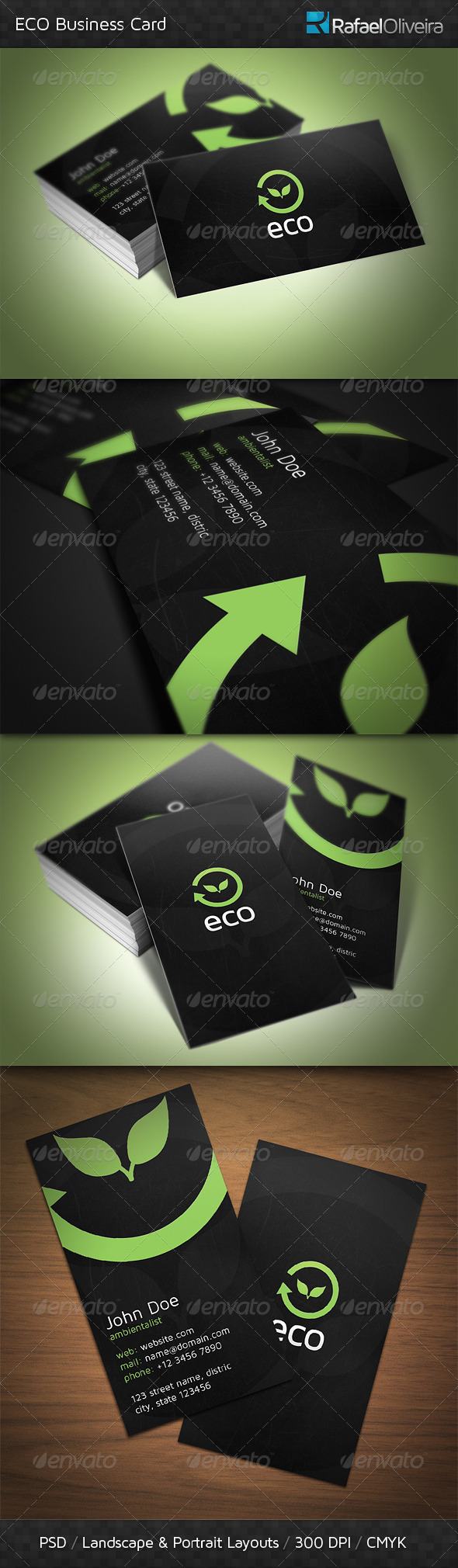 GraphicRiver ECO Business Card 3685282