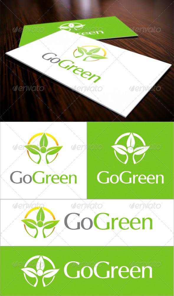 GraphicRiver Go Green Logo 3567862