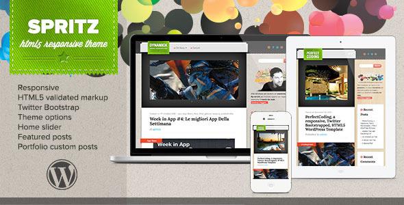 ThemeForest Spritz HTML5 Responsive Theme 3603094
