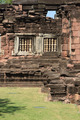 Sand stone window of the historical castle in Thailand. - PhotoDune Item for Sale