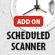 Scheduled Scanner add-on for Security Ninja - CodeCanyon Item for Sale