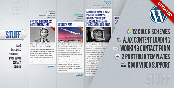 ThemeForest Stuff 132346