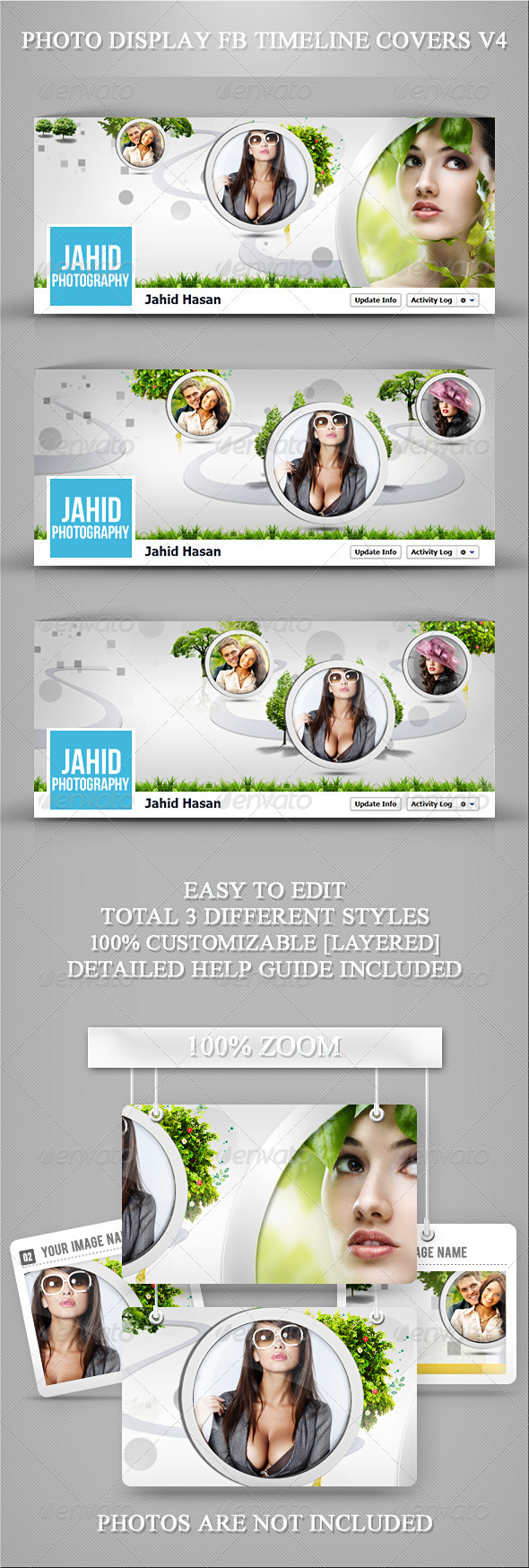 GraphicRiver Photo Display FB Timeline Covers V4 3686723