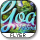"Nature Festival Flyer Template ""Goa trance"" - GraphicRiver Item for Sale"