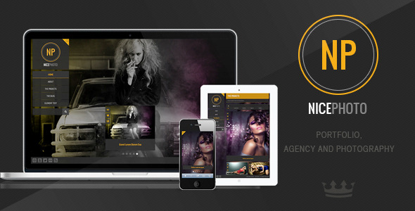 NicePhoto - WordPress Photography Portfolio - Theme Preview