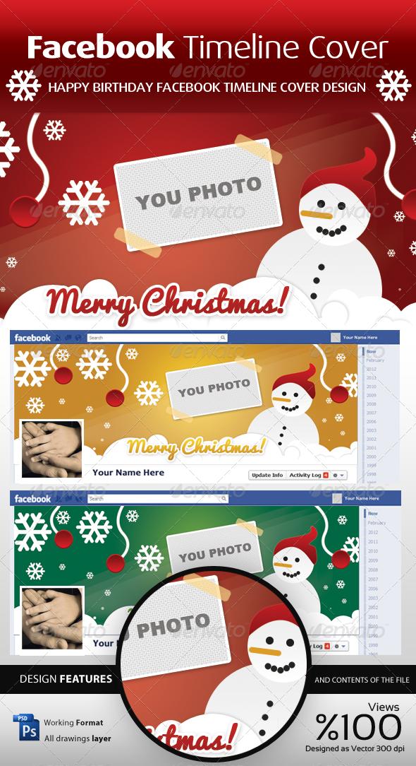 FB Christmas Timeline Cover - Facebook Timeline Covers Social Media