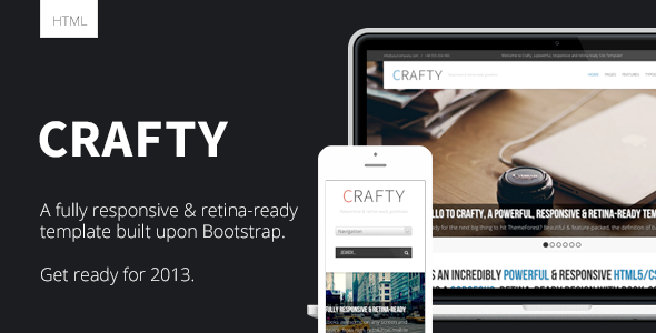 ThemeForest Crafty Responsive Retina-ready HTML Template 3687423