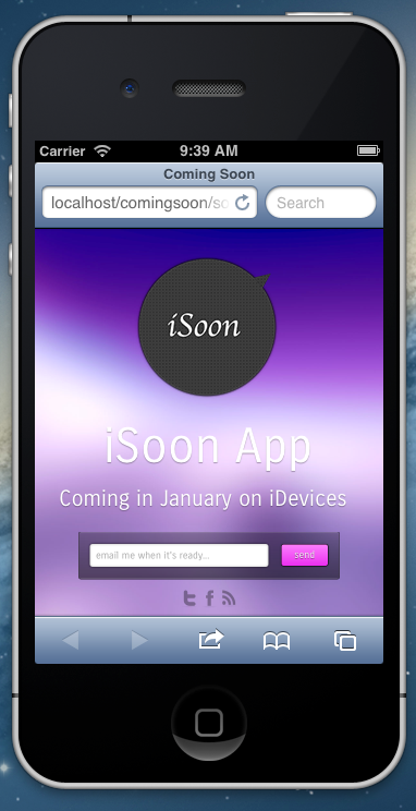 Anima - Coming Soon Template