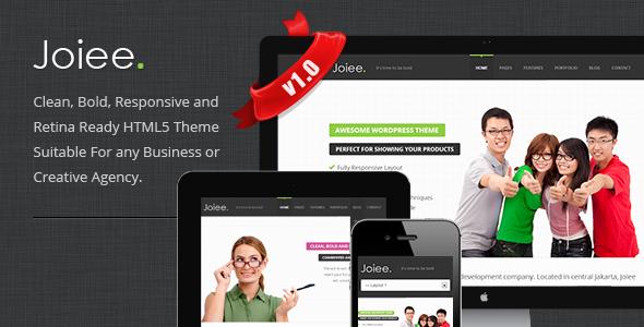 ThemeForest Joiee Multipurpose Responsive HTML5 Theme 3688793