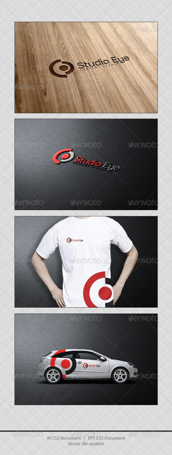 GraphicRiver Studio Eye Logo 3652281