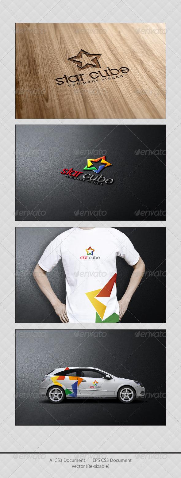 GraphicRiver Star Cube Logo 3652283